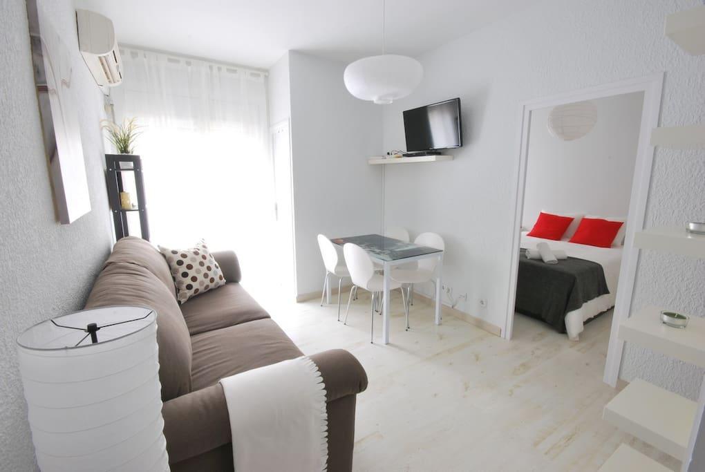 Accogliente al quartiere di gr cia appartamenti in for Quartiere gracia barcellona