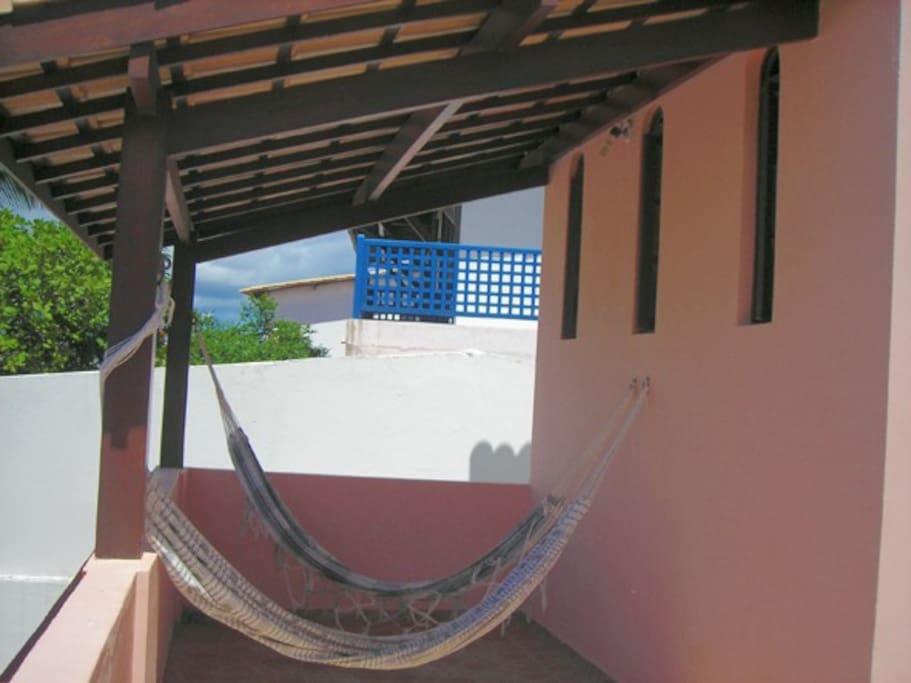 varanda comum parcial