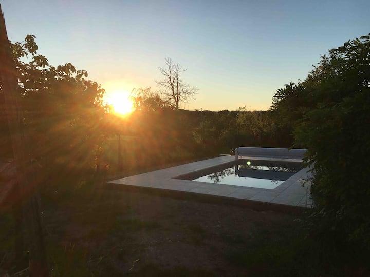 Chambre d hôte avec piscine au calme près du lac