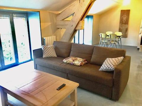 Appartement style Loft Lumineux et Calme