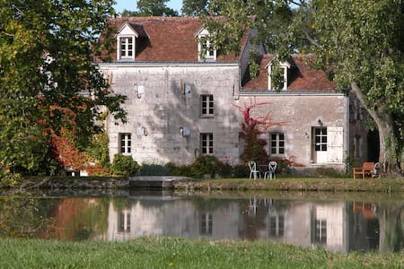 Old mill in the Chateaux area - Bléré - Bed & Breakfast
