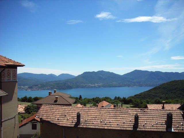 Casa Nanda Lago Maggiore Trarego - Trarego Viggiona - Huoneisto