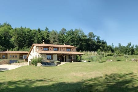 Eco Guest house . Pyrenees. swimmingpool.