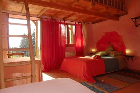 Ecological B&B facing Pyrenees  - Sainte-Croix-Volvestre