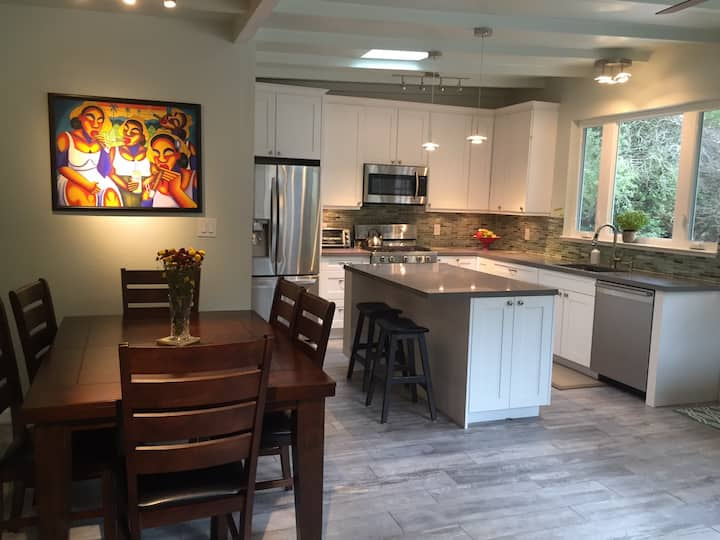 Charming 1 acre home in West Marin