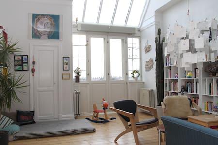 Unique penthouse apartment, 105m2 - Frederiksberg