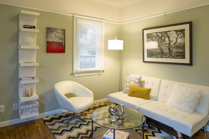 Modern Charm Near Downtown - 1 BR