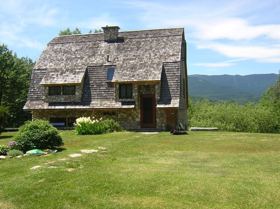 Majestic westward view to Sugarbush from this country home