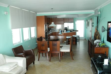 Beachfront Luxury at Sandy Beach - Puntas - Apartment