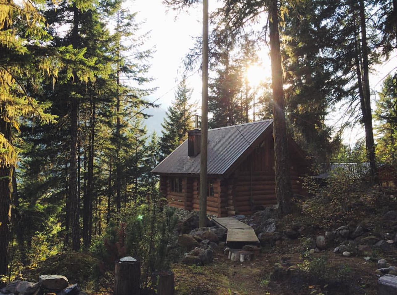 joffre creek cabins where to stay in pemberton