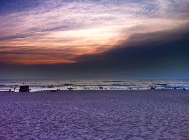 Weko Beach Sunset.
