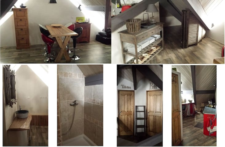 Appartement de caractère, chaleureux & cosy - Briançon - Apartament