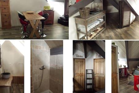 Appartement de caractère, chaleureux & cosy - Briançon - 公寓