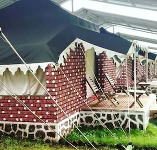 Luxury camping by the foothills of Sahyadri Range