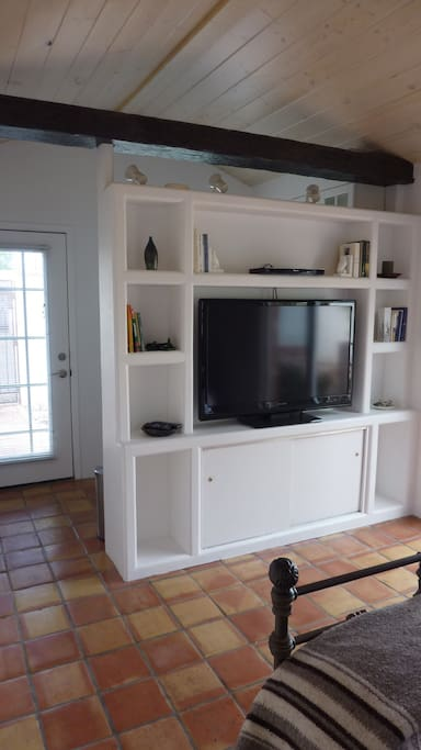 Television with internet access