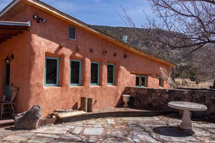 Traditional Adobe on Beautiful Secluded Property