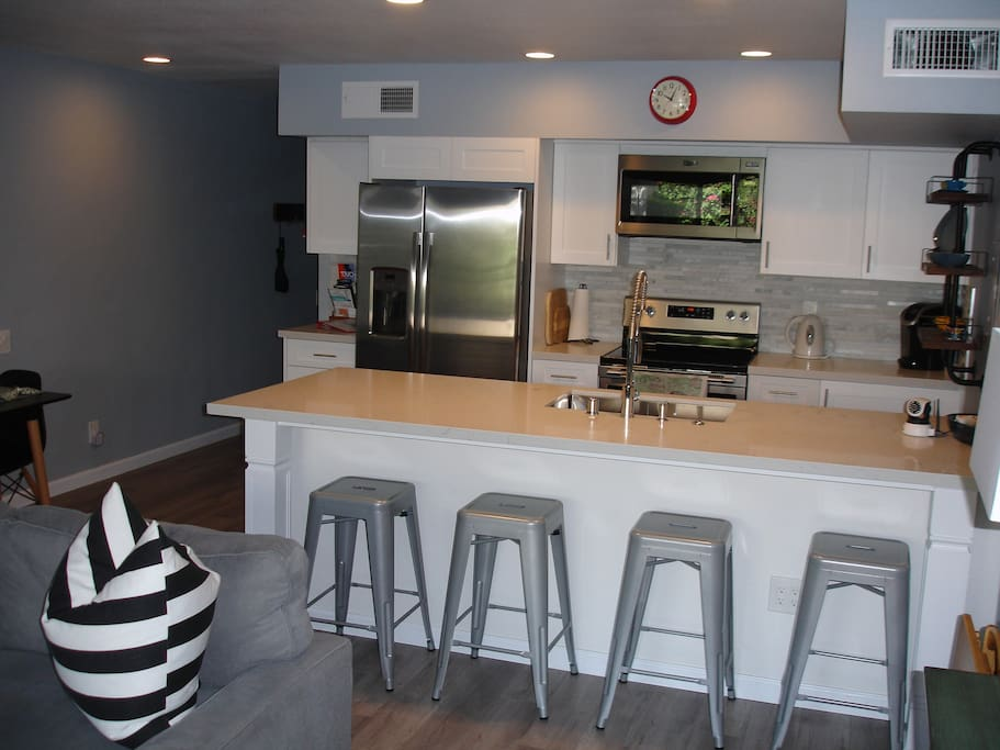 All new kitchen; all new appliances