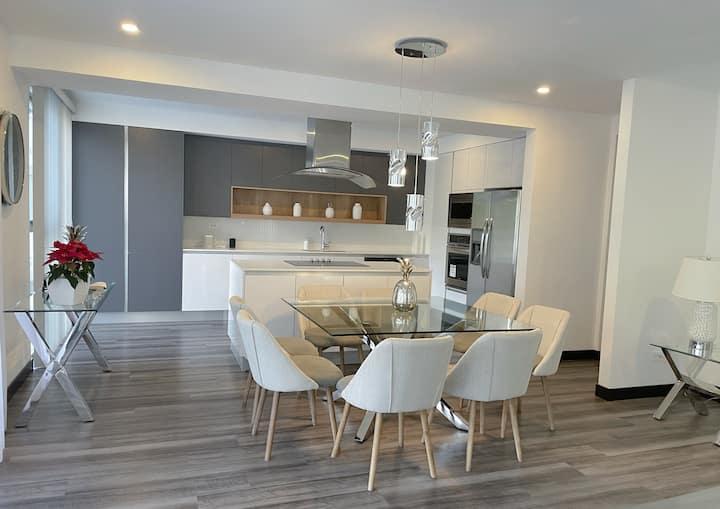 Apartamento nuevo, amplio y equipado,  Z13 196mts2