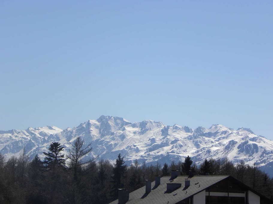 Panorama depuis appartement