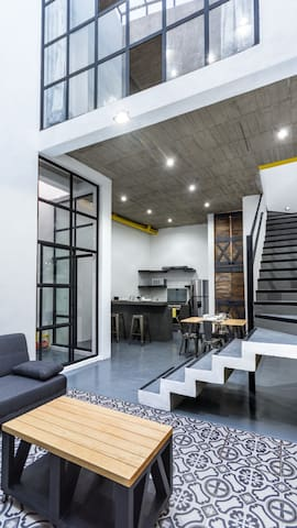 Modern and brand new Loft with rooftop terrace