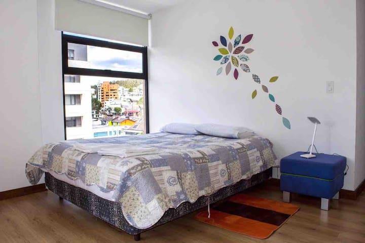 Dormitorio 3, cama 2.5 plazas