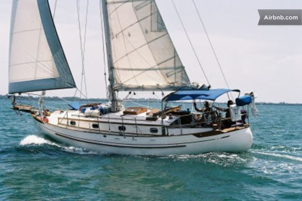 COME SAILING WITH US.........