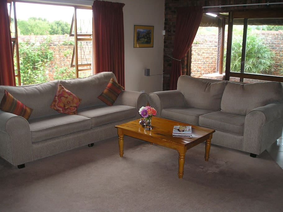 Large Carpeted Lounge