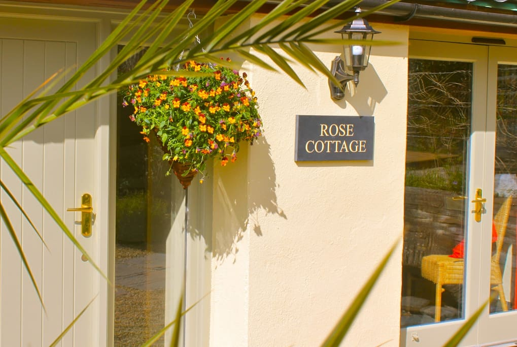 You've arrived at Cotmore Farm, and found Rose Cottage at the end of the farmyard