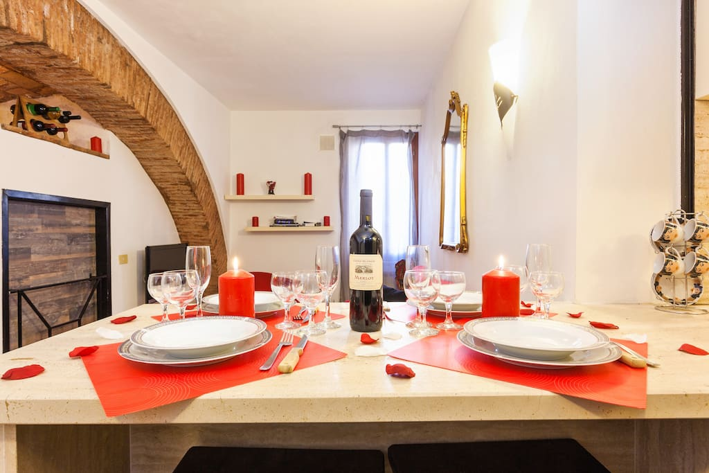 Scala in trastevere center of rome appartamenti in for Affitto uffici roma trastevere