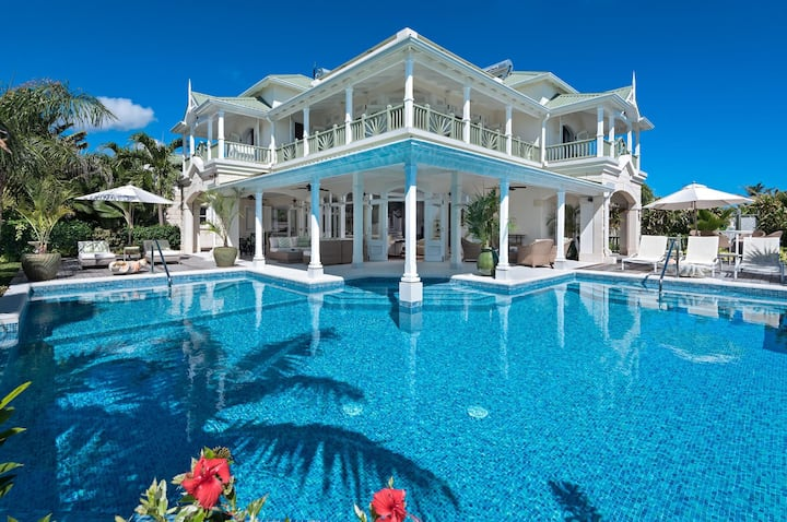 Hectors House in Christ Church by Personal Villas - Triumph of Botanical Beauty and Coastal Luxury