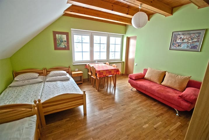 Pokój Zielony MALINÓWKA - Szczyrk - Szczyrk - Rumah