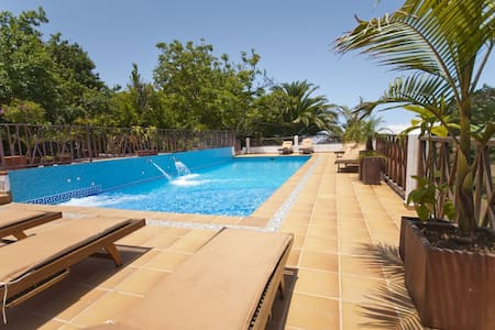 Holiday Cottage with pool (GC0001) - Moya - Haus