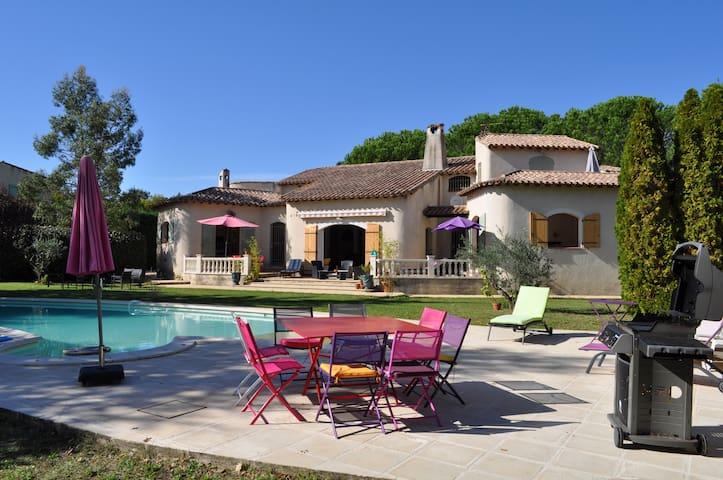 Belle maison du Sud, toute équipée, piscine ... - Saint-Génies-de-Malgoirès