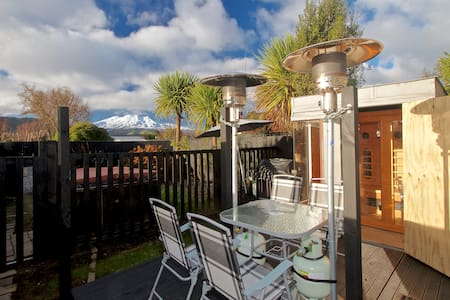 Funky Studio, Couples Retreat-Spa Pool,Wifi,SKYTV - Ohakune