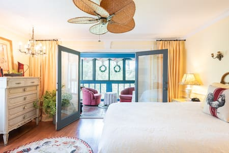 E🌴Queen suite, Keyless, Waterfront, mins to beach