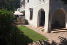 House with Yard at S. Felice Circeo