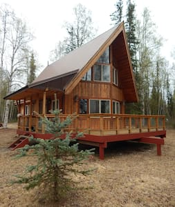 Charming Alaska A-Frame - Willow - 小木屋