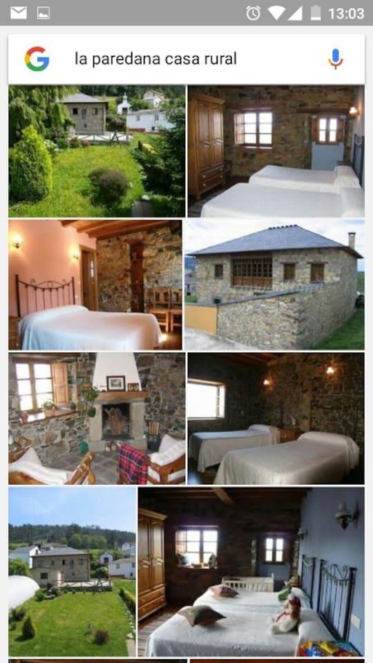 Varias imágenes de la casa
