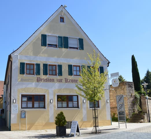 Double room  only 35 min. to the fair in nuernberg