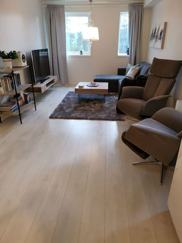 Spacious and well equipt apartment