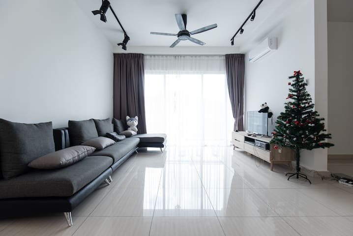 Cozy Condominium with Forest View - Kuala Lumpur - Bed & Breakfast