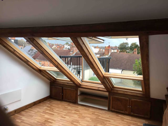 Fantastic views over Old Town, Terraced house.