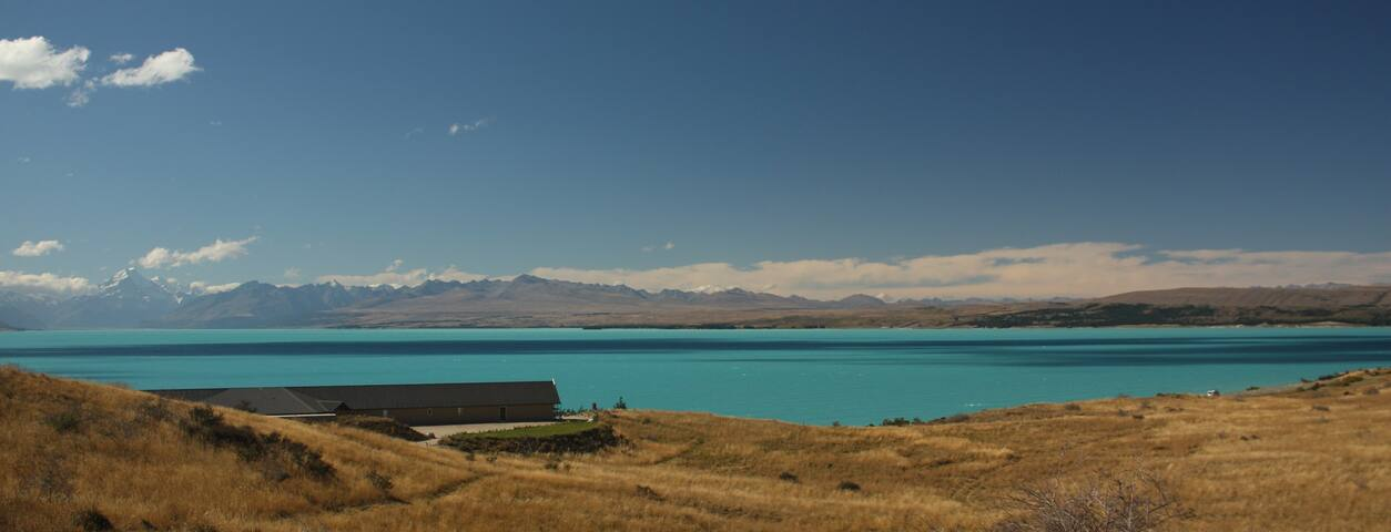 Stunning Mt Cook & Lake View Suite - Pukaki - Bed & Breakfast