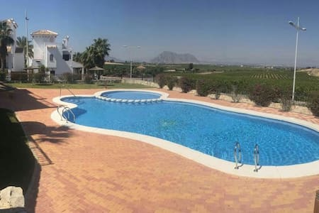 Great 2 bed apartment with balcony & terrace. - Algorfa