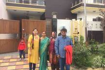 Arvind & his lovely family from Vishakhapatnam
