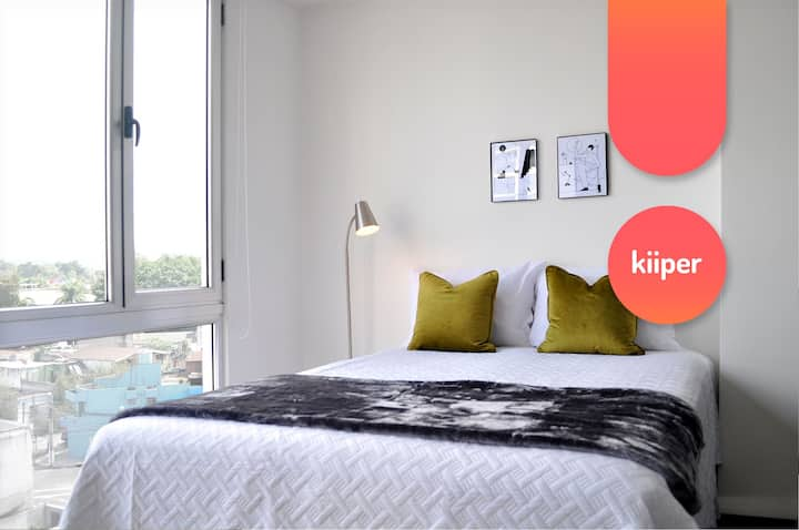 kiiper | City-Views Studio Trendy Area | 2 PPL