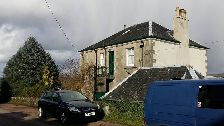 'Ardsheileach' from Hillview Terrace.