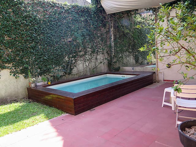 Casa bien equipada (c/Pileta) en La Horqueta