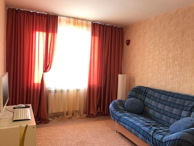 Уютная квартира рядом с Зима-Лето, ЛДС