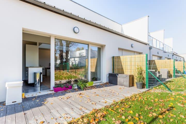 NEW Chambre Hypercentre + Parking - Reims - Hus